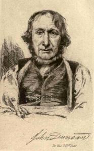 John Duncan weaver and botanist