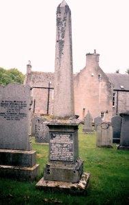 John Duncan's memorial stone