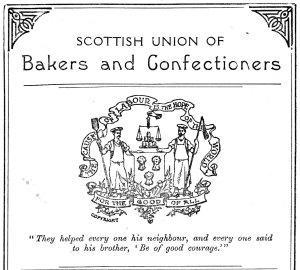 Scottish bakers and confectioners motto