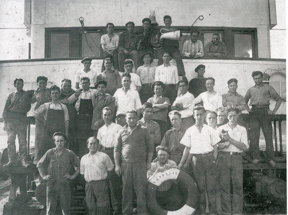 Crew  of Vendaval