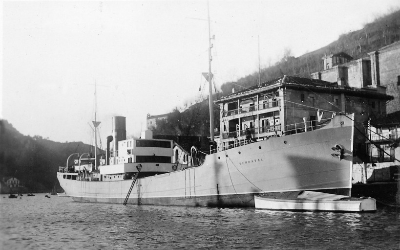 Trawler Vendaval; Courtesy Archivo Juan Pardo www.marinavasca.eu Gipuzkoako Furu Aldundia.