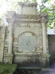 George Davidson at St Nicholas graveyard