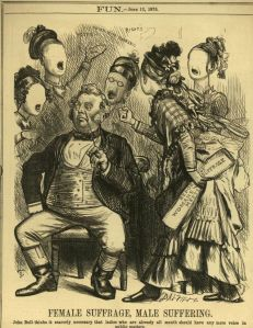 suffragette cartoon male suffering