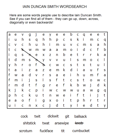 duncan smith wordsearch