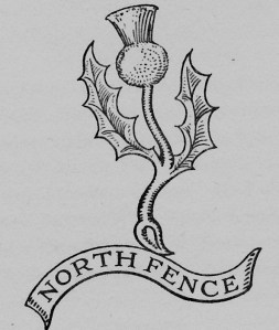 Escutcheon of Gordon Fencibles