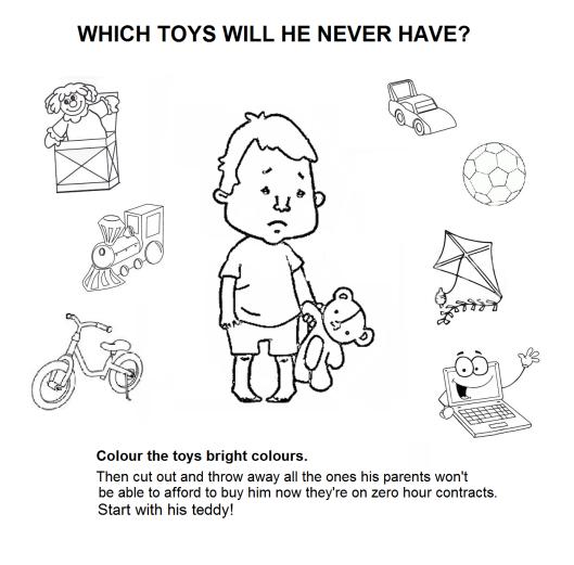 sad boy no toys