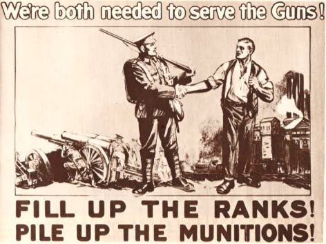 Soldiers in WWI (McKinnon's arms)
