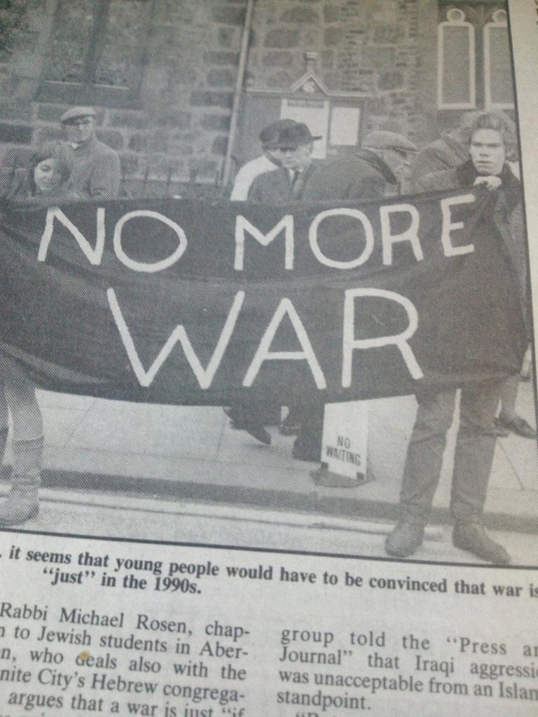 Mac 11nov protest