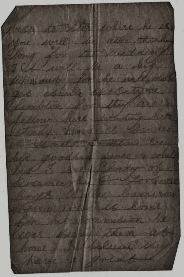 trenches letter 4 1917 Highland soldier