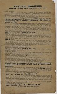 Rev Leaflet circa 1919