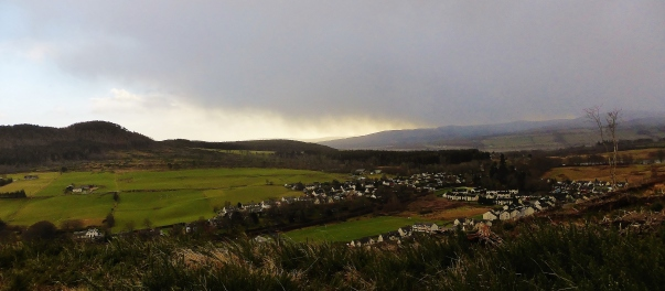 Strathpeffer looking West