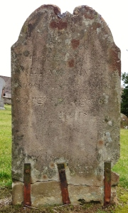 Repaired tombstone Insch
