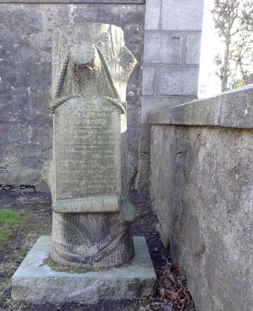 William S Rennie Headstone
