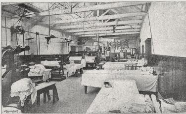 Aberdeen Steam Laundry  ironing hall