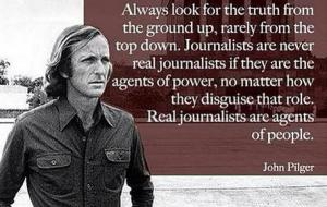 pilger on journalists
