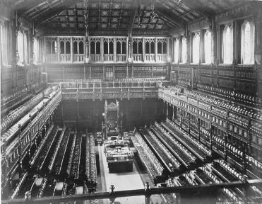 Old_House_of_Commons_chamber,_F._G._O._Stuart c 1870s