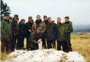 shot hares