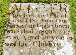 flat gravestone Glenbuchat