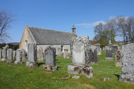 Glenbuchat churchyard