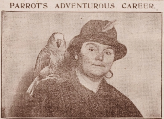 mrs pearce and parrot 1924