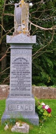 Tullynessle war memorial