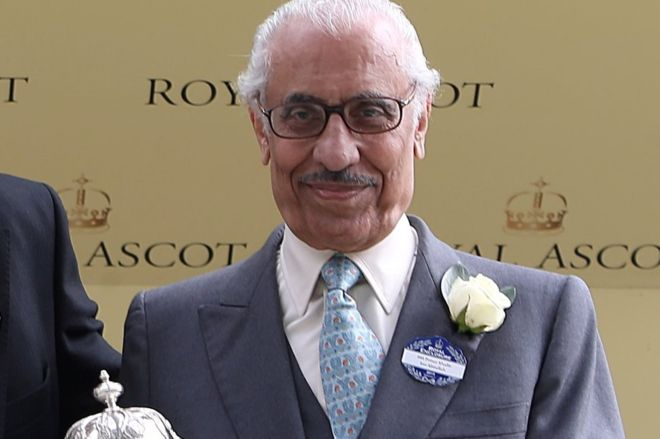 Khalid Abdullah al Saud, owner of Frankel the racehorse.