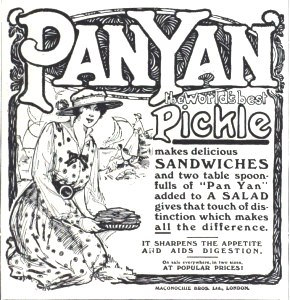 Pan Yan Pickle ad