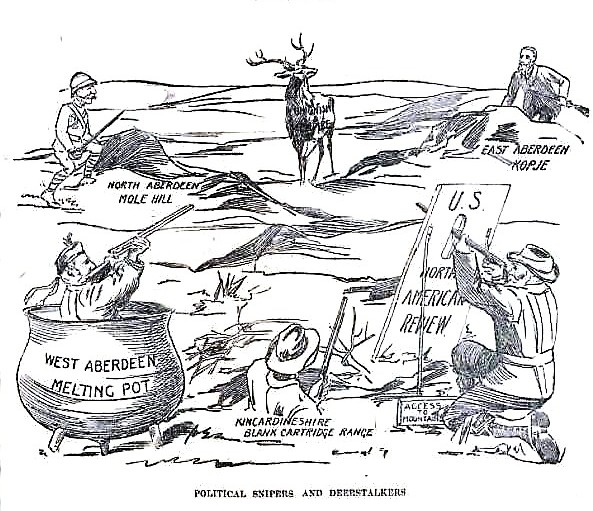Political cartoon AWJ election Sept 26 1900 p.7