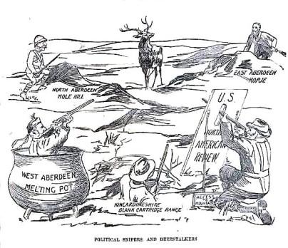 Political cartoon AWJ election Sept 26 1900 p.7