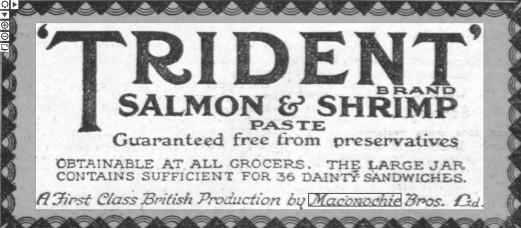 Salmon and Shrimp Paste 1926