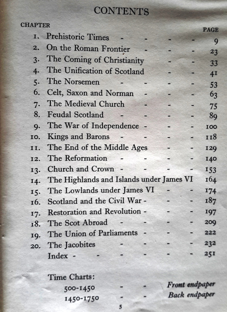 IMM Macphail, A History of Scotland Book 1, 1950s