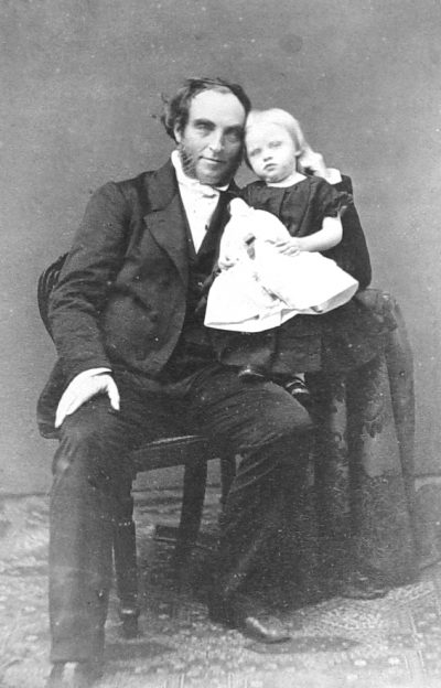 James and daughter Helen