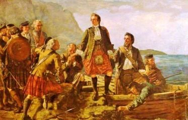 'Lochaber No More', Prince Charlie Leaving Scotland