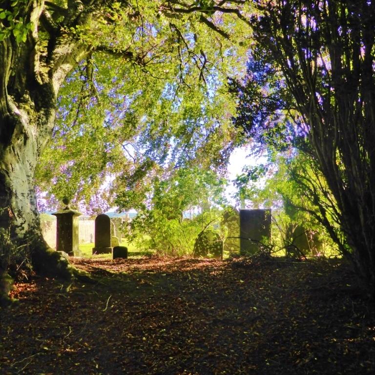 Dunbennan Graveyard near Huntly