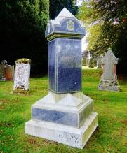Sellar granite monument