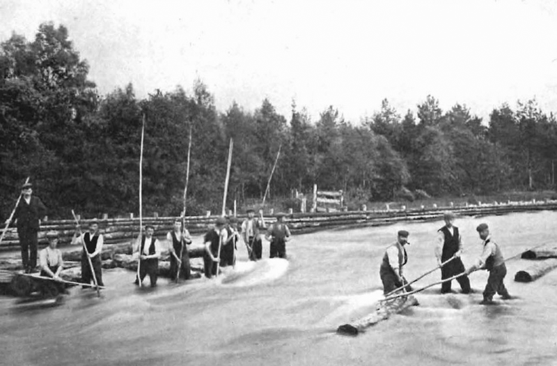 Spey floaters c 1900