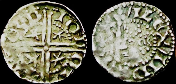 hammered silver penny alex iii aberdeen 1250-80