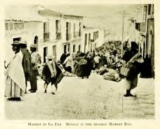 La Paz market day