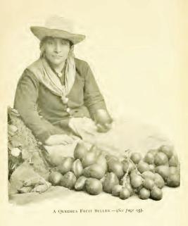 Quechua Fruit Seller