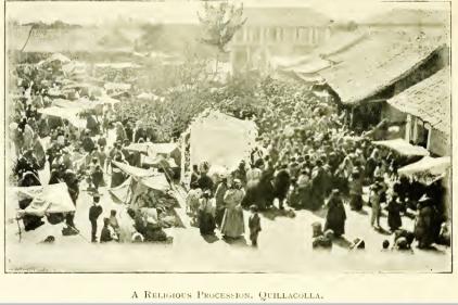 religious procession Quillacolla