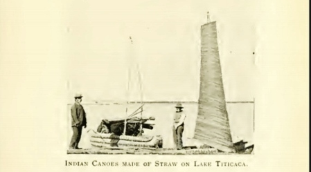 straw canoes