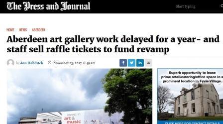 art gallery raffle