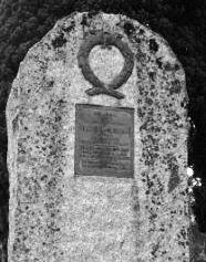 Bertram's gravestone