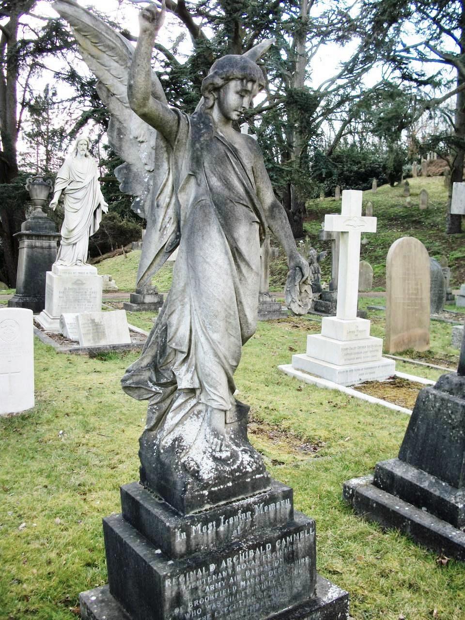 Cammell gravestone