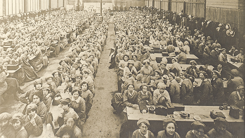 Munition workers